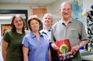 CSU tomato group June 2012 (Lindsay Shearer, Lorinda Anderson, Suzanne Royer, Stephen Stack