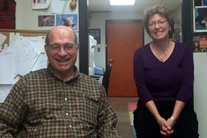 Dr. Steve Stack and Dr. Lorrie Anderson anticipate their upcoming trip to Russia.